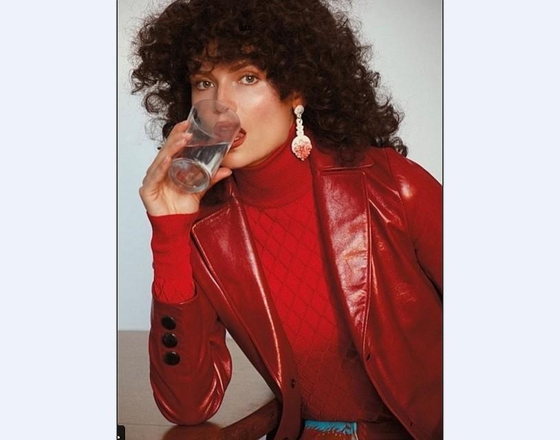 Пермская модель Наташа Поли снялась вфотосессии встиле 80-х