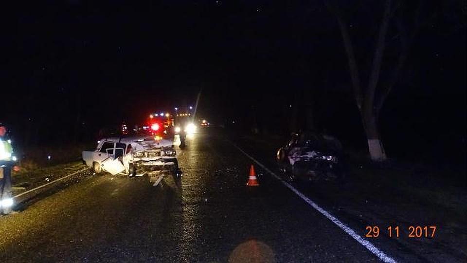 Пятеро пострадали встолкновении 2-х  авто  наСтаврополье