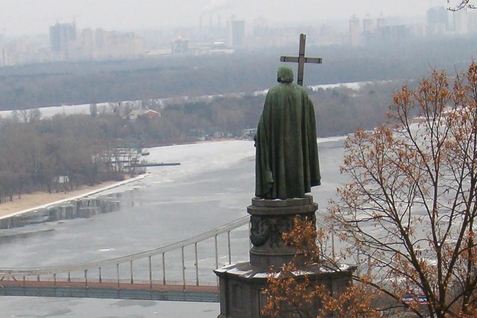 ВКиеве посоветовали  поставить монумент  «жертвам крещения Руси 990 года»