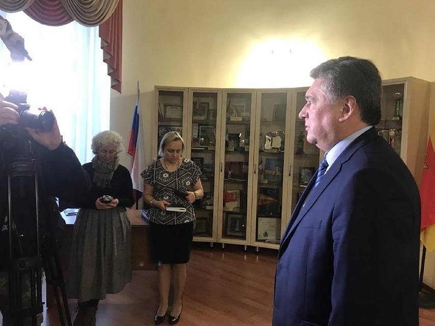 Алексей Огоньков вновь избран главой Твери