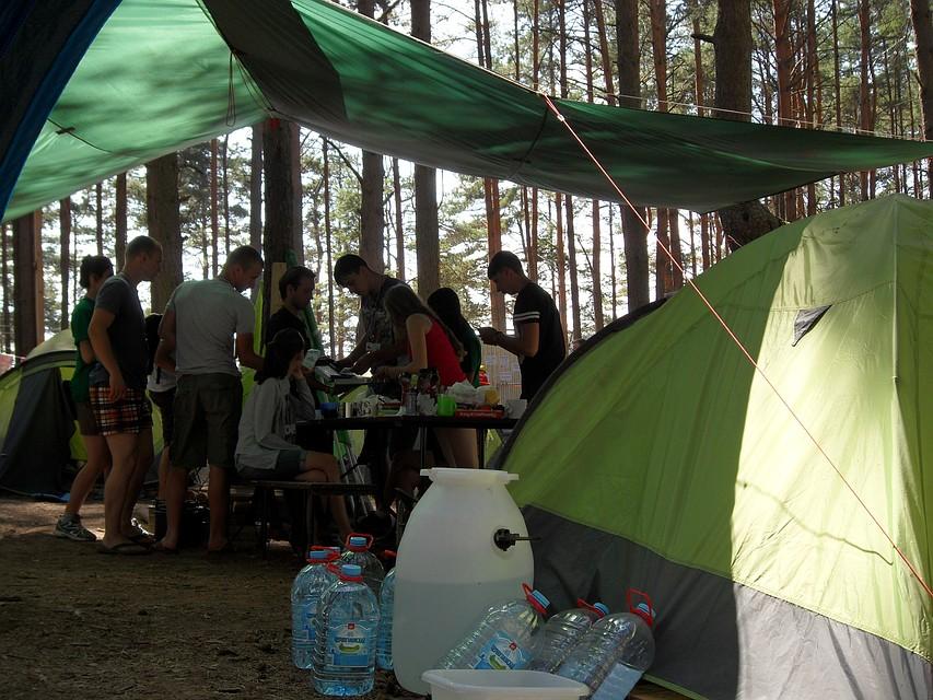 В предстоящем году вВоронежской области появится палаточный лагерь для детей