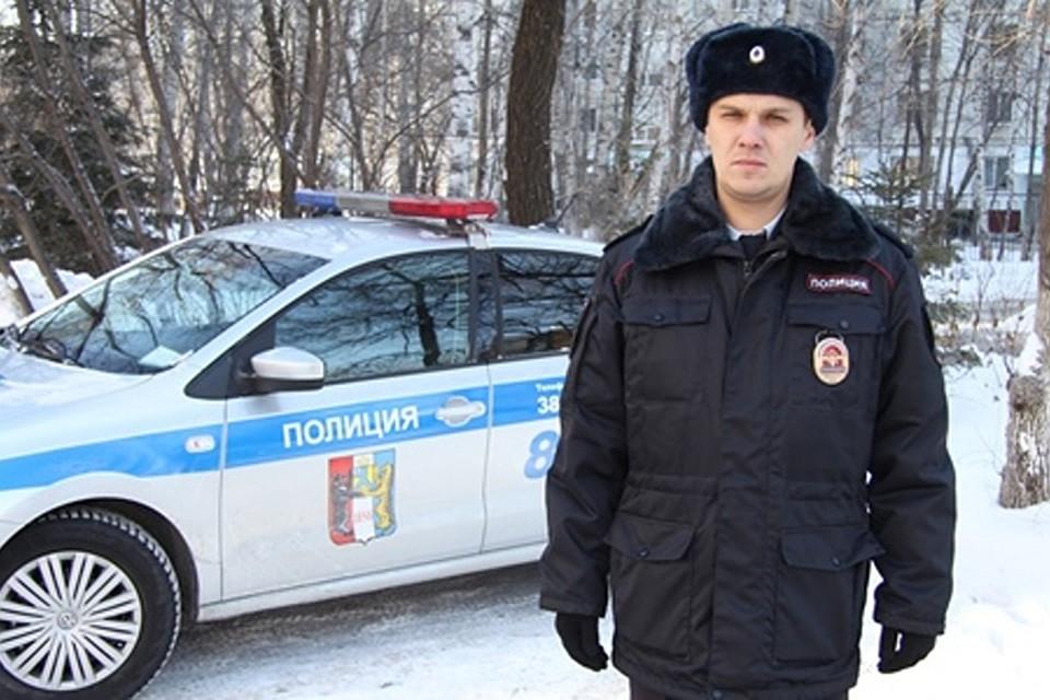 Полицейский Хабаровска задержал голыми руками дебошира сножом