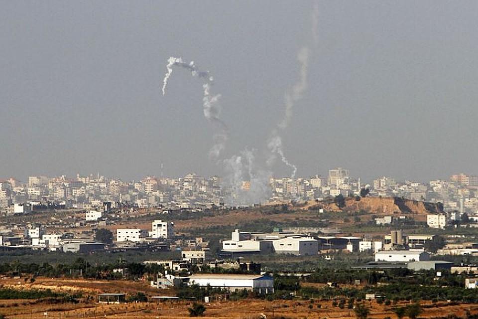 СМИ проинформировали  озапуске 2-х  ракет изсектора Газа внаправлении Израиля