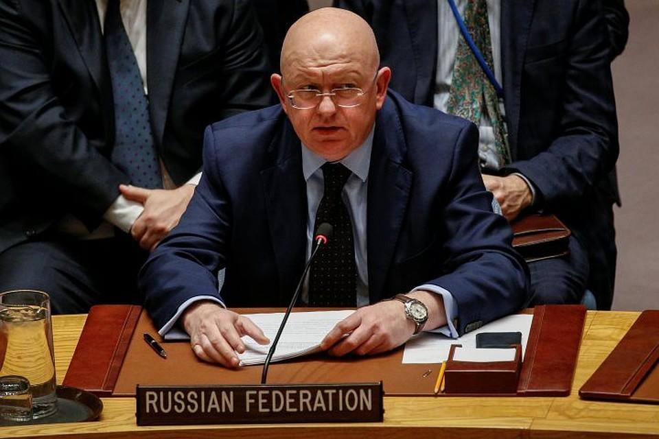 Небензя призвал перезапустить процесс палестино-израильского урегулирования