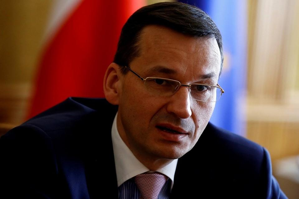 Новый премьер Польши выступил заотказ от русского газа впользу американского