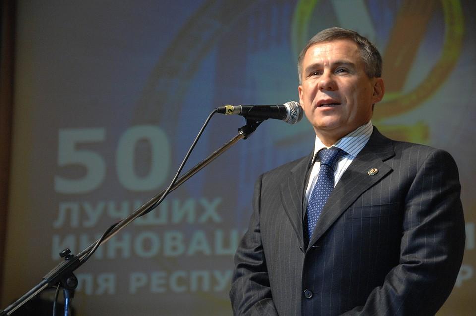 Минниханов вознаградит наилучших инноваторов Татарстана