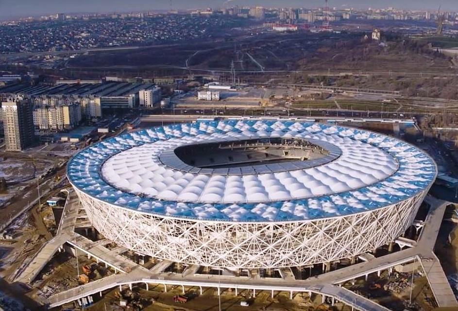 Настадионе «Волгоград Арена» гасят условный пожар