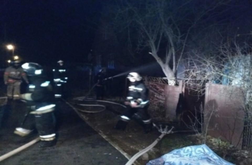 Трое мужчин погибли минувшей ночью вовремя пожара вАдыгее