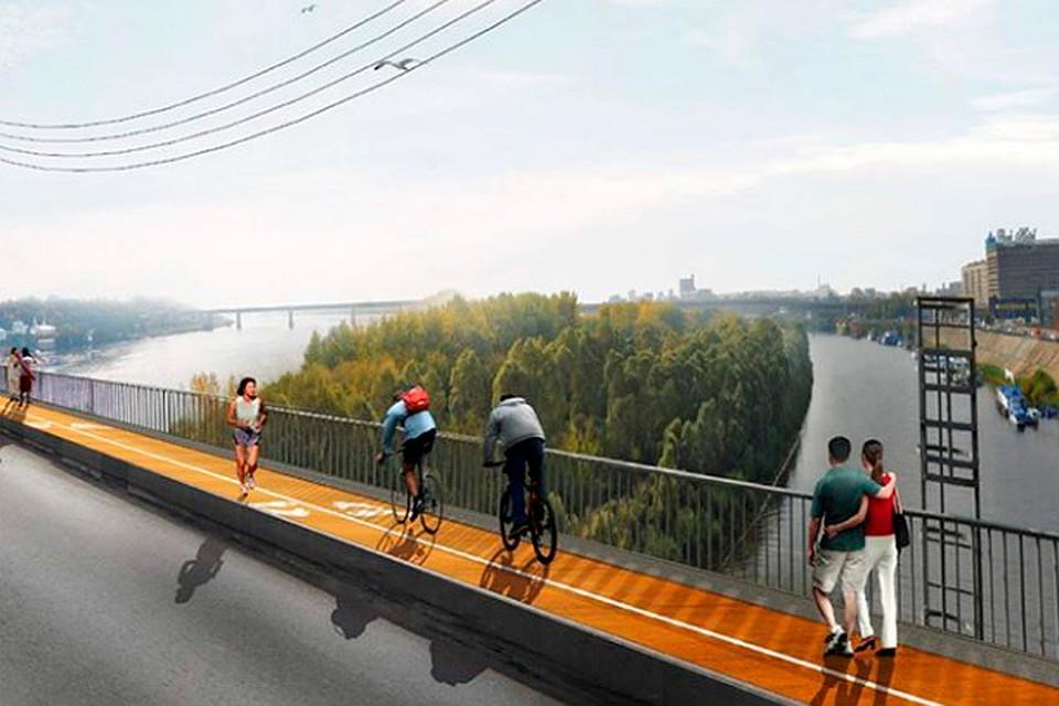 Сеть велодорожек появится нанижегородских набережных