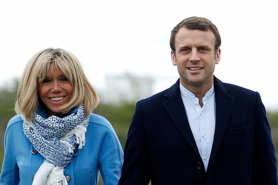 Президент Франции Эммануэль Макрон преждевременно отпраздновал 40-летие