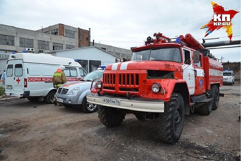 Вцентре Новочеркасска горел двухэтажный дом