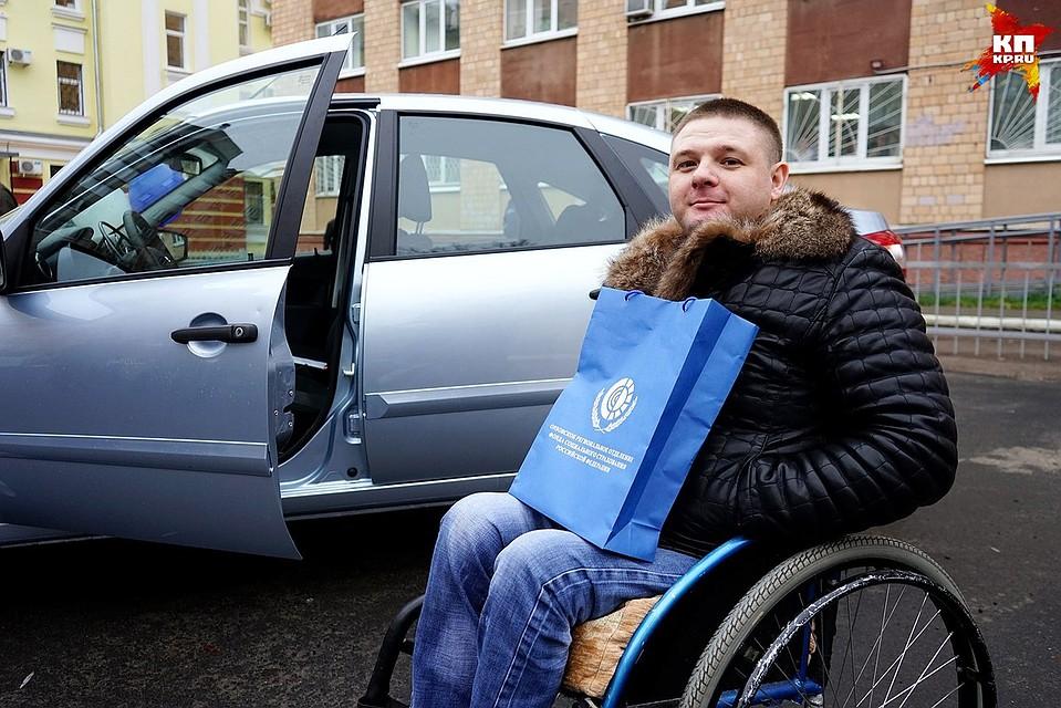 Орловцы, пострадавшие напроизводстве получили автомобили
