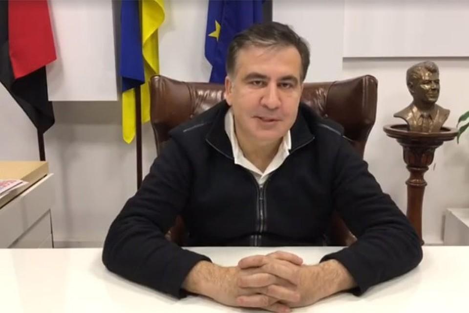 Саакашвили воткрытом письме Порошенко призвал его добровольно уйти вотставку