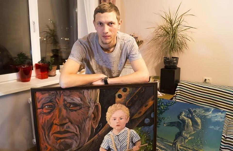 Стену реабилитационного центра «Семья» вТюмени разрисует художник из республики Белоруссии