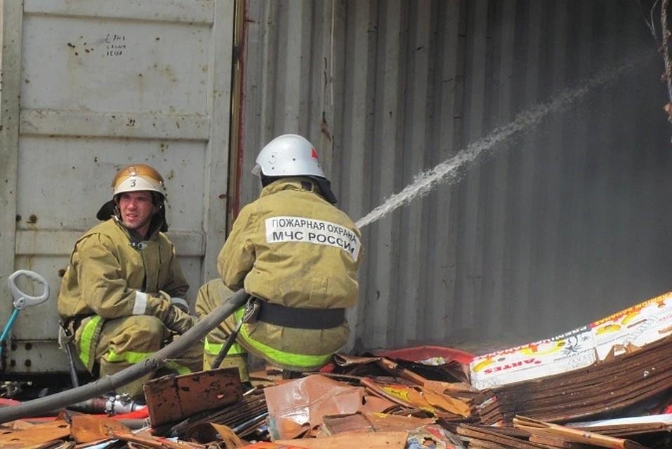 ВРостовской области пострадал пенсионер вовремя пожара вгараже