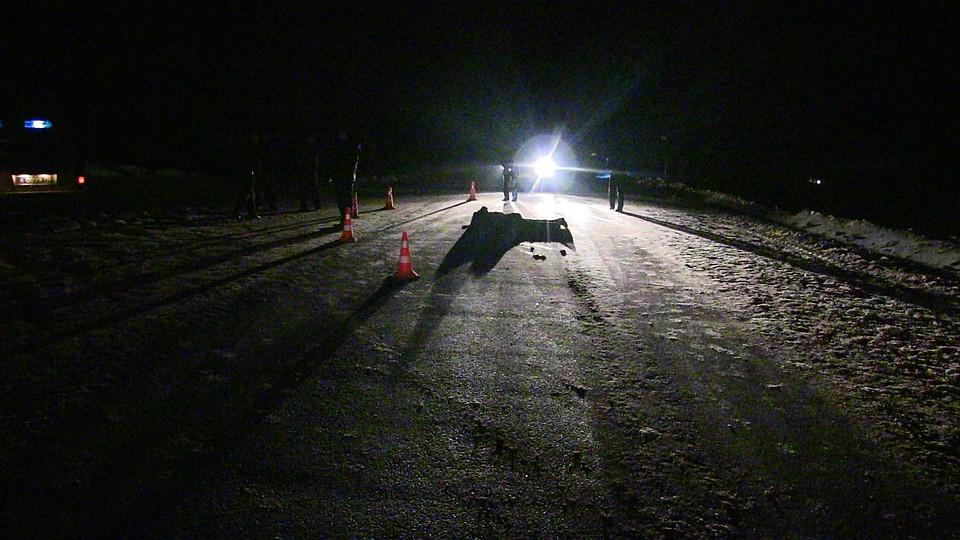 Шофёр фургона сбил насмерть пешехода надороге вКизнерском районе и исчез