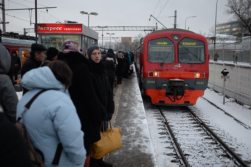 ВМосковской области две женщины погибли под колесами поезда