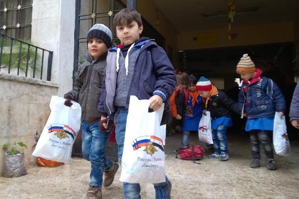 Практически 200 школ восстановлены вСирии за2017 год