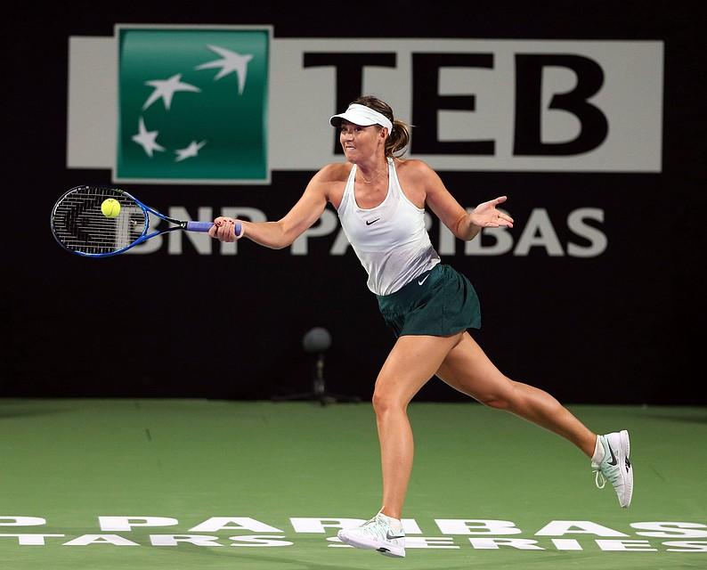 Мария Шарапова одержала победу в Китае