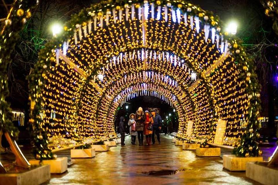 Праздничные мероприятия наТверской затри дня посетили 2,7 млн человек