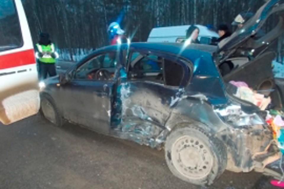 Девочка погибла вДТП натрассе вНижегородской области 4января