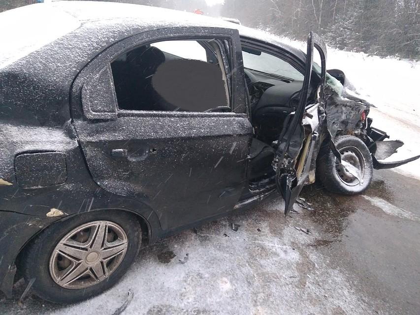 ВУдмуртии при столкновении 3-х авто травмы получили 7 человек
