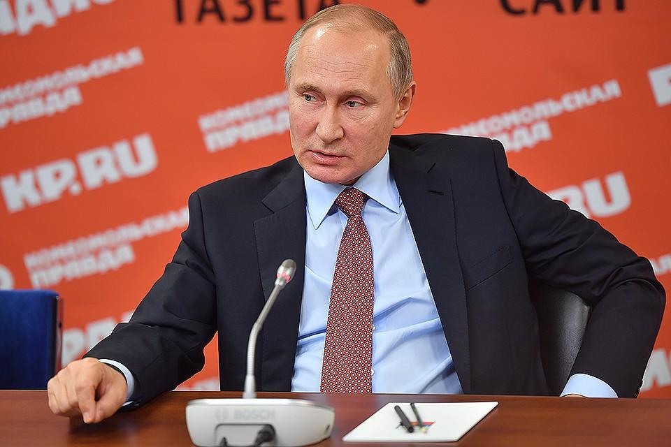 Песков поведал овечернем телефонном разговоре Владимира Путина 11января