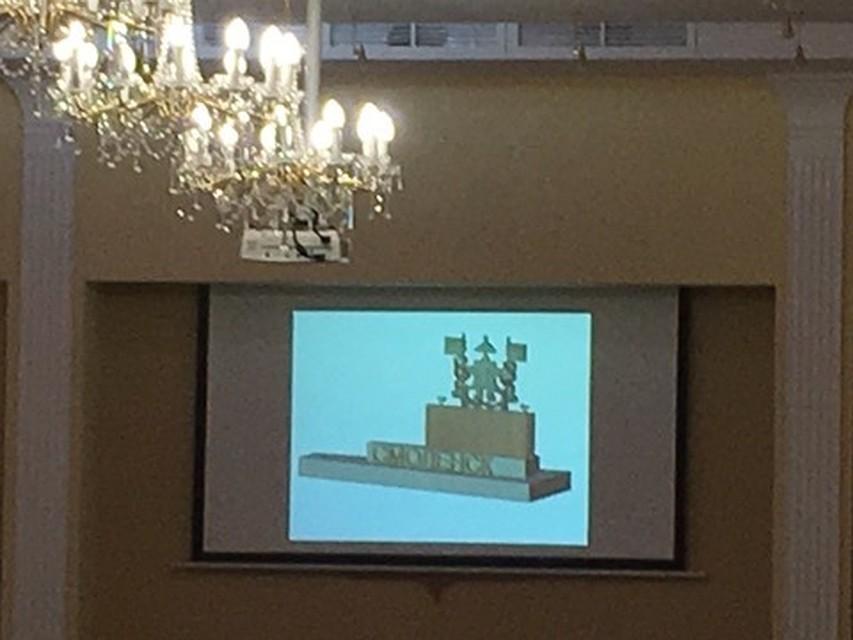 Герб изключей. ВСмоленске создадут постамент сгербом города