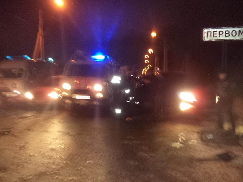 ВТульской области около 8 пассажиров маршрутки пострадали в трагедии
