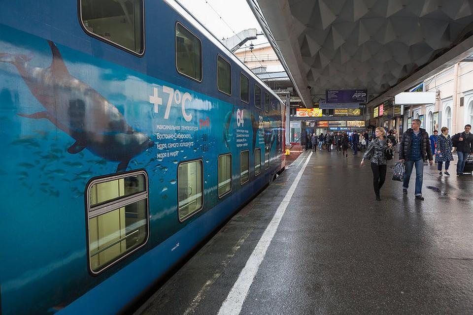 В русских поездах возникла «Библиотека молодого путешественника»