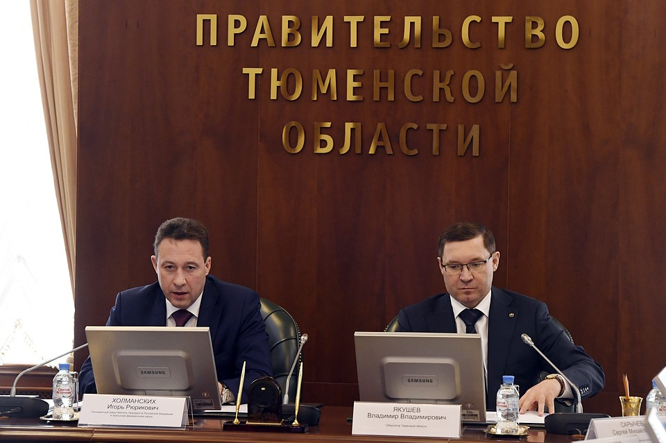 Полпред президента обозначил снижение преступности вТюменской области