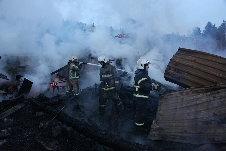 ВПрикамье семья с14 детьми осталась без жилья из-за пожара