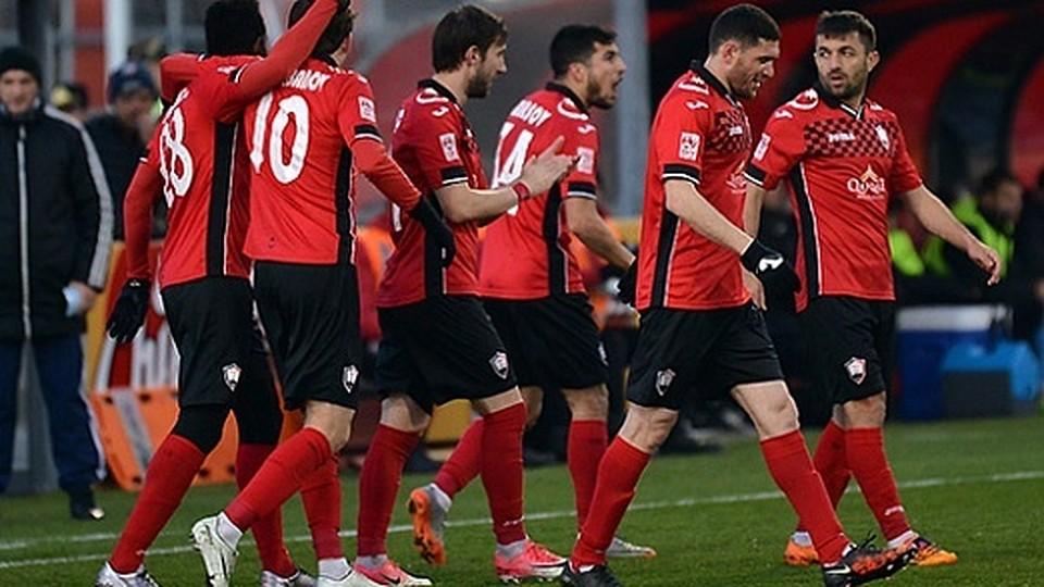 Тульский «Арсенал» сыграл вничью с«Габалой»