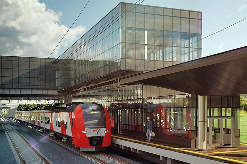 В столице построят две новые железнодорожные станции наКурском направлении