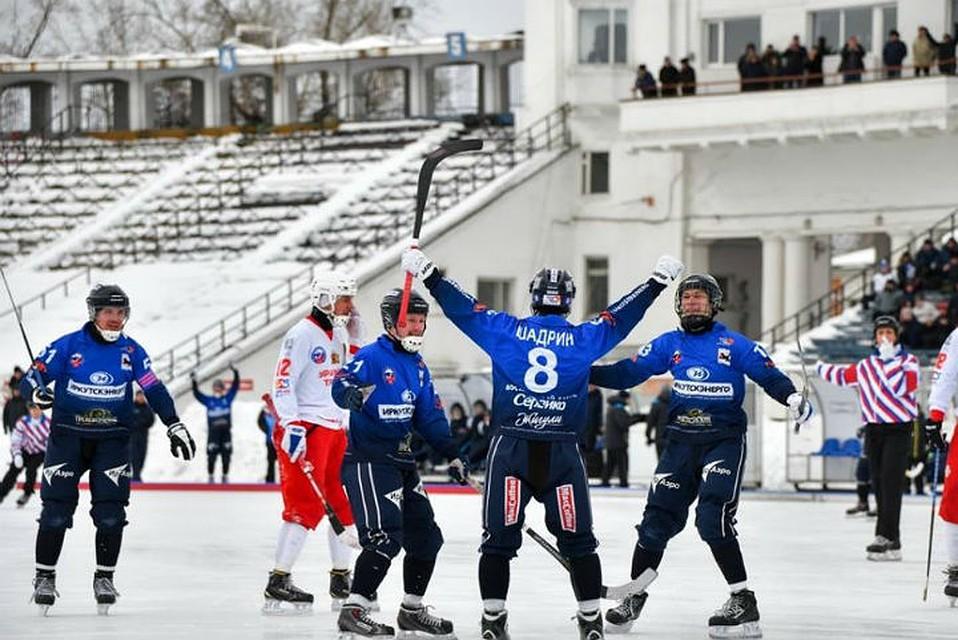 «Байкал-Энергия» победил «Уральский Трубник» ивышел вполуфинал чемпионата РФ