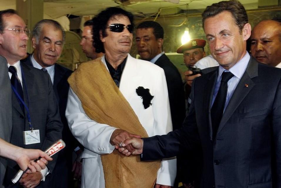 Сын Каддафи готов дать показания против Саркози