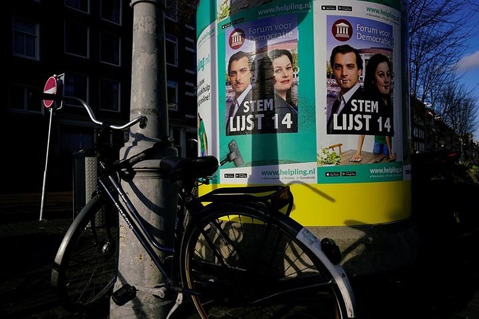 Экзитпол: нареферендуме вНидерландах приняли закон о«Большом брате»