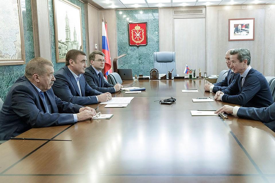 Алексей Дюмин встретися слегендарным хоккеистом Вячеславом Быковым