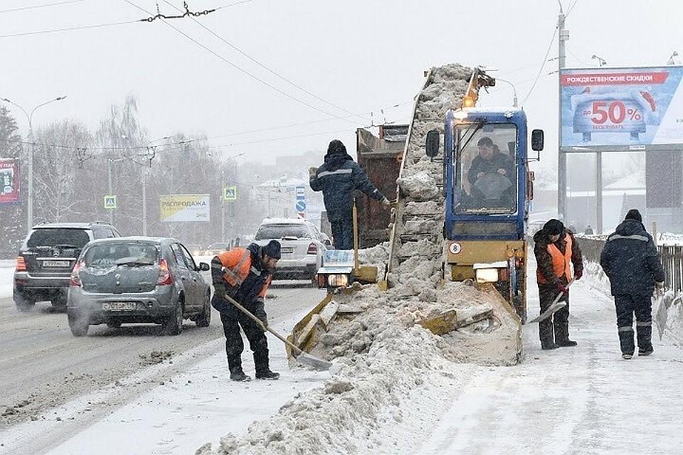 За минувшую зиму сулиц Казани снега вывезли на35 процентов больше