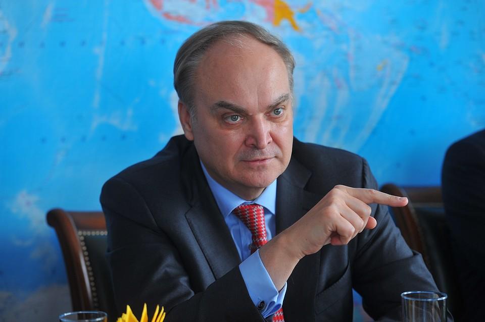 Антонов выразил протест Госдепу подействиям США повысылке дипломатов