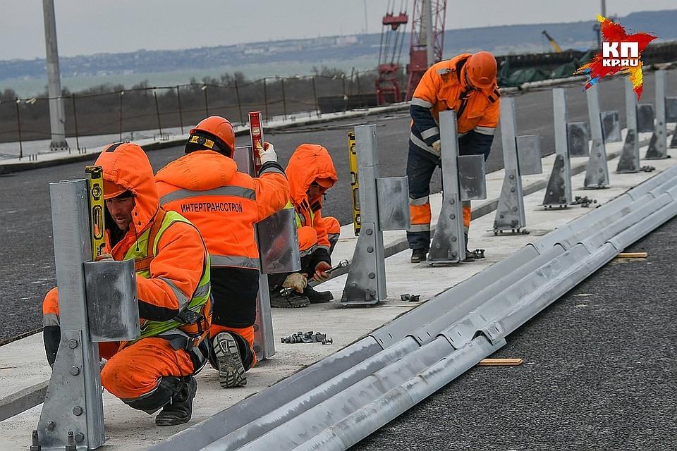 ВКиеве сообщили, что Крымский мост соединит «украинские Крым иКубань»