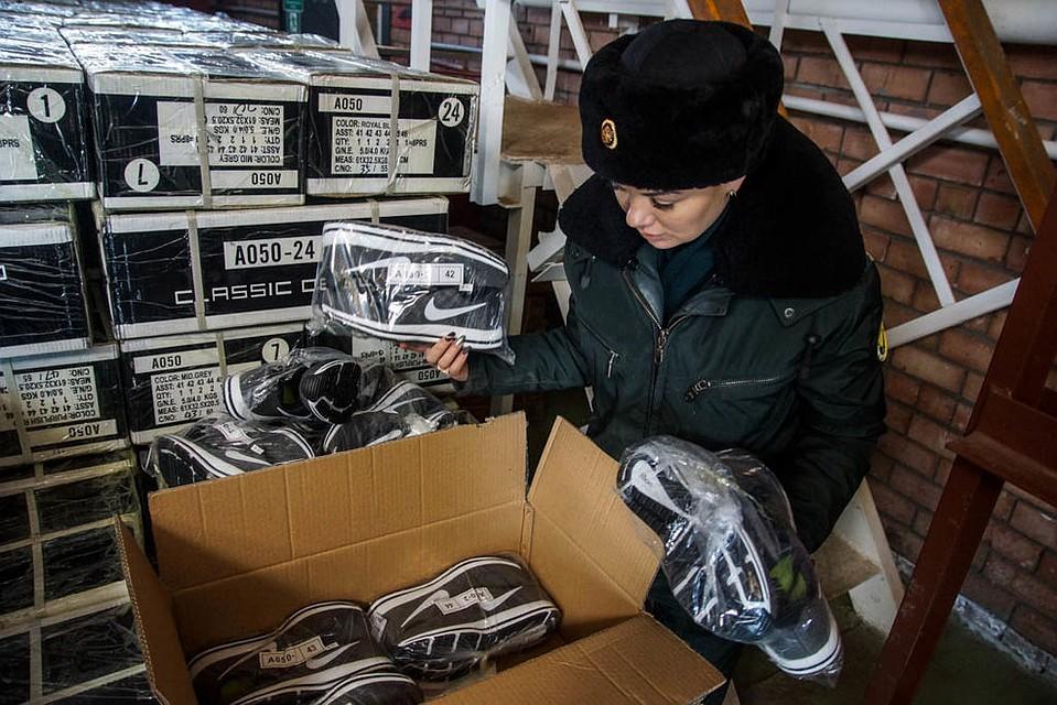 Самарская таможня отыскала 32 тысячи поддельных кроссовок Adidas иLacoste