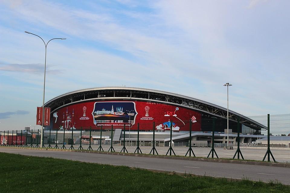 ВКазани ограничат движение около «Казань Арены» вдень тестового матча
