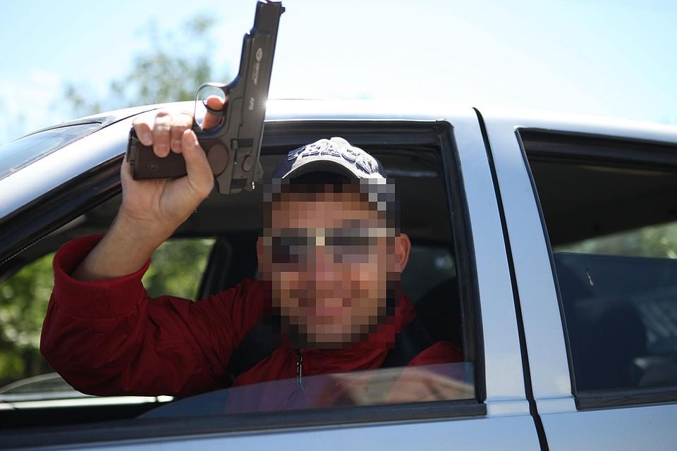 Милиция задержала троих граждан Ингушетии, стрелявших изсвадебного кортежа
