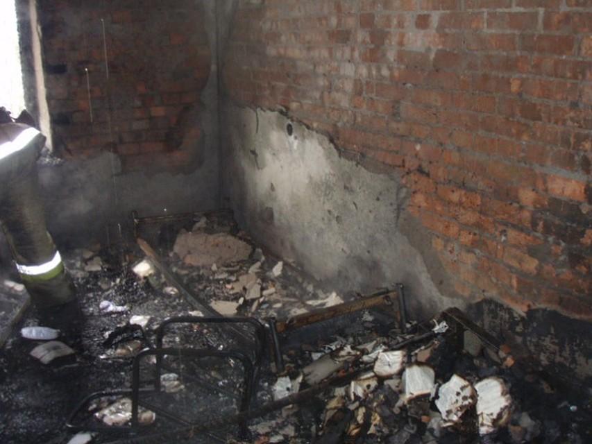 ВРостове напожаре в личном доме умер мужчина