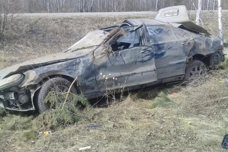 ВЧебаркульском районе шофёр умер вДТП