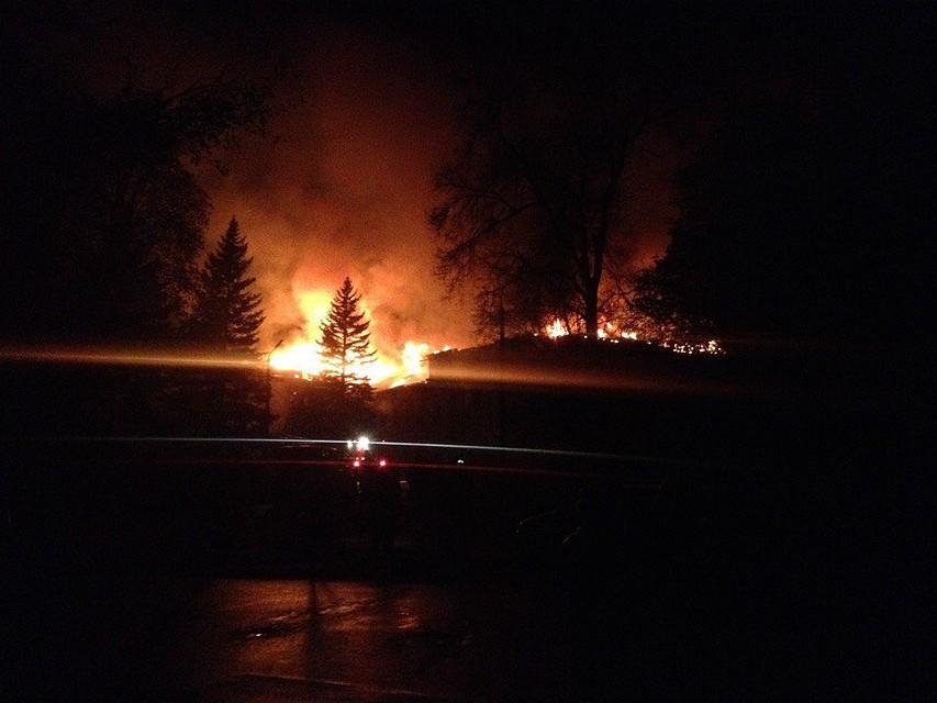 Интенсивный пожар охватил шахту «Куйбышевская» вДонецке