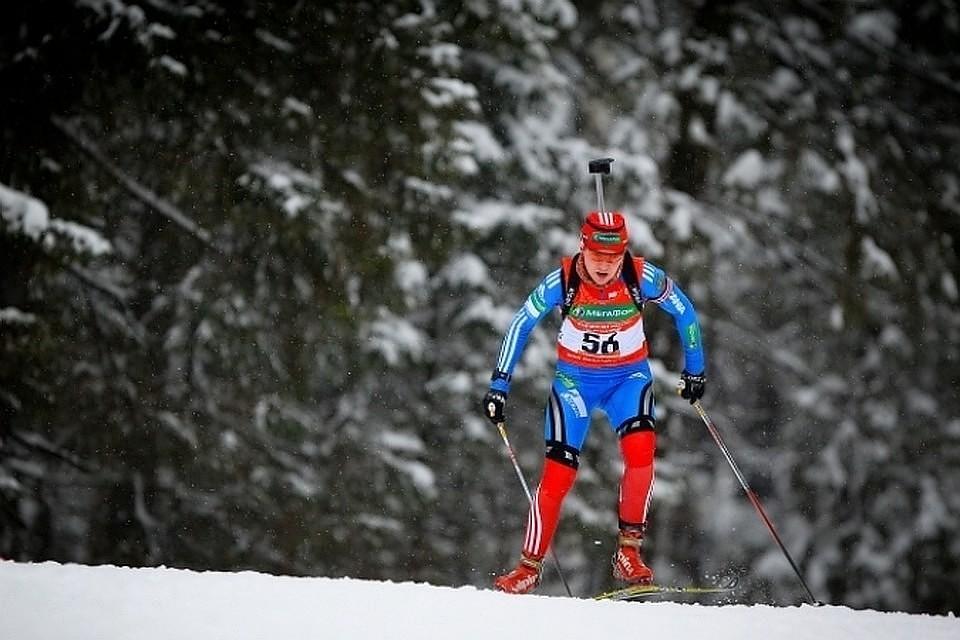 Российскую биатлонистку Глазырину дисквалифицировали на2 года задопинг