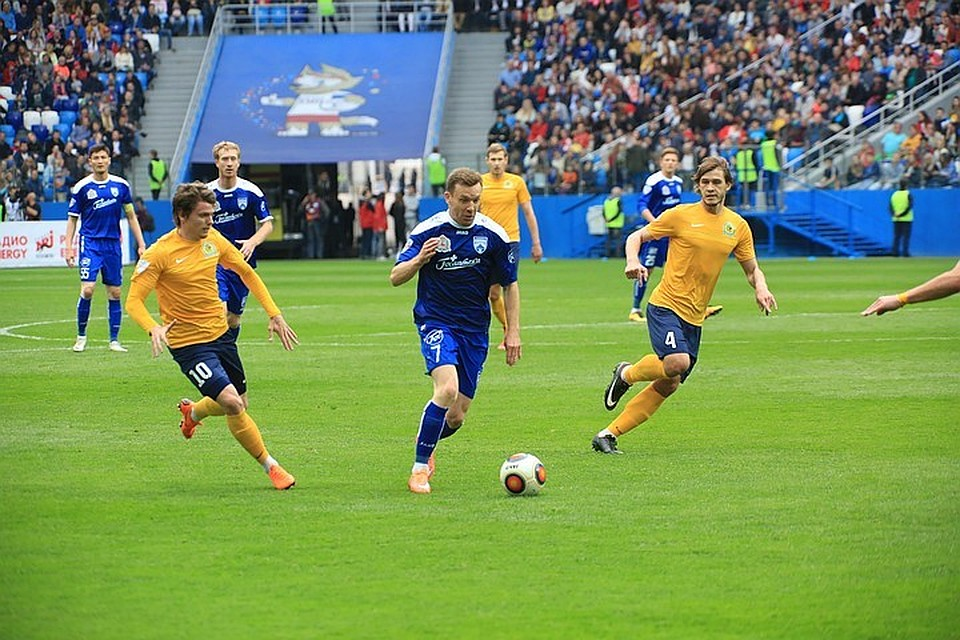 Церемония открытия стадиона «Нижний Новгород» кЧМ прошла перед 3-м тестовым матчем