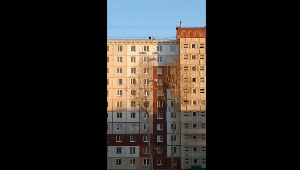 ВУфе подростки, делавшие селфи накрыше, переполошили местных граждан